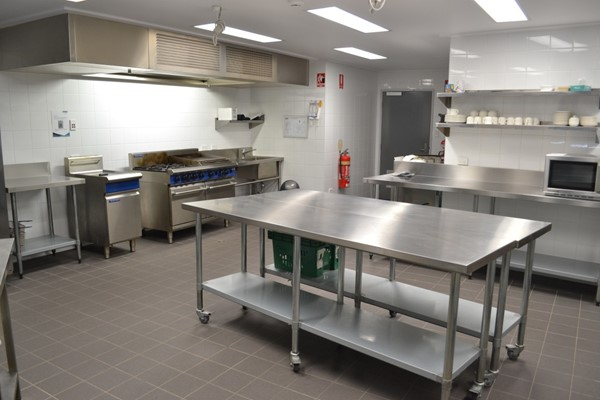 Youth and Community Activities Building Kitchen