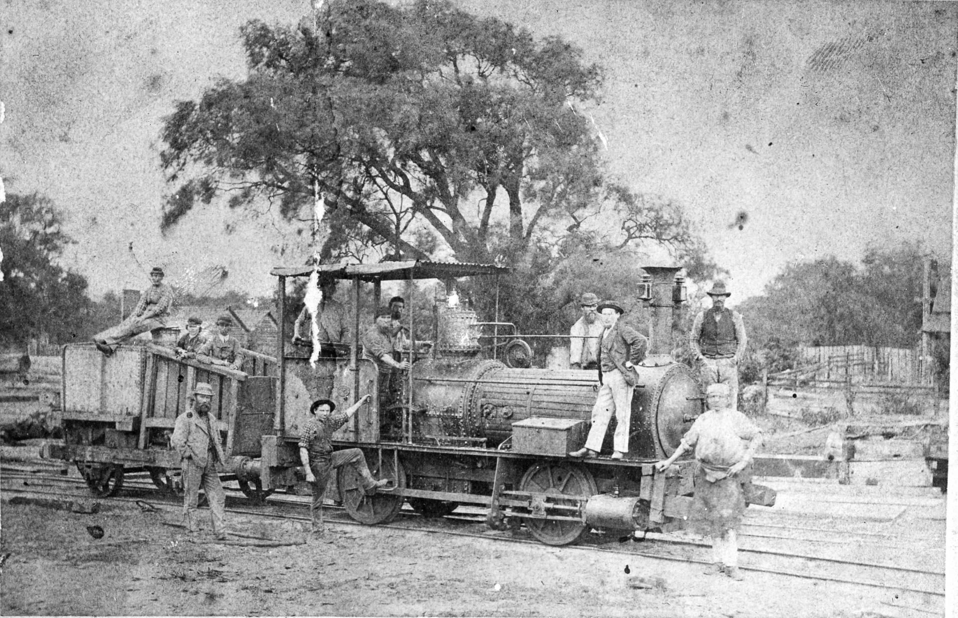 Ballaarat Engine Countdown to 150th Anniversary
